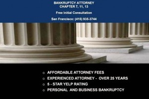 Photo #1: Affordable Bankruptcy Attorney Chapter 7 and 13 Free Initial Consult