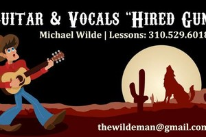 Photo #1: PRIVATE GUITAR & VOICE LESSONS (GUITAR INSTRUCTOR FOR WEST LA COLLEGE)