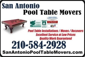 Photo #1: POOL TABLE MOVERS / INSTALLERS