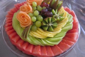 Photo #1: FRUIT CARVING FOR YOUR EVENT!!