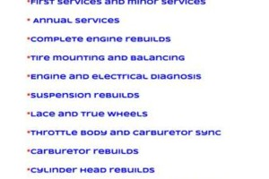 Photo #1: Motorcycles and Powersports Service