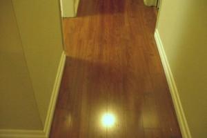 Photo #3: I install wood flooring, vinyl planks, laminate & engineered for $1ft