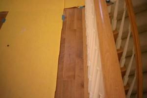 Photo #2: I install wood flooring, vinyl planks, laminate & engineered for $1ft