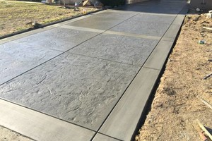 Photo #3: Stamped Concrete. Alumawood/Wood Patios