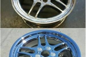 Photo #18: Wheel Repair and Metal Finishing (Chrome, Polish, Powder Coat)