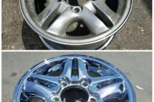 Photo #15: Wheel Repair and Metal Finishing (Chrome, Polish, Powder Coat)