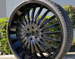 Photo #1: Wheel Repair and Metal Finishing (Chrome, Polish, Powder Coat)