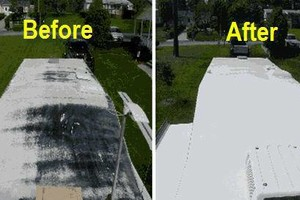 Photo #1: Mobile home roof coatings. BEST PRICES in town!