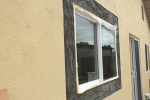 Photo #12: STUCCO & TEXTURE REPAIR
