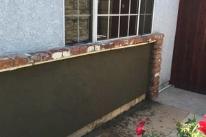 Photo #2: STUCCO & TEXTURE REPAIR