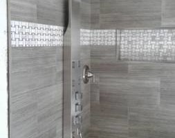 Photo #1: TUB Shower Walls Remodel - $2,399 all tile materials included
