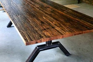 Photo #4: Defiance Hardwood - Repurposed Wood Furniture