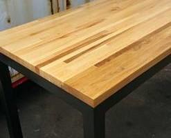 Photo #3: Defiance Hardwood - Repurposed Wood Furniture