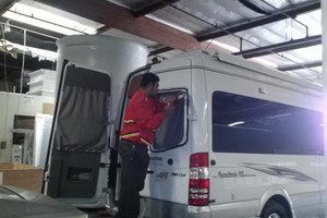 Photo #1: Windshield replacement by Art's Auto Glass