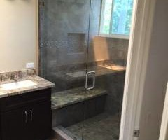 Photo #12: GLASS! Frameless Glass Showers, Shower Enclosures, Mirrors