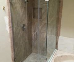 Photo #9: GLASS! Frameless Glass Showers, Shower Enclosures, Mirrors