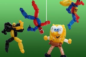 Photo #9: Amy Party Popper's. Extreme face painting & balloon twisting parties