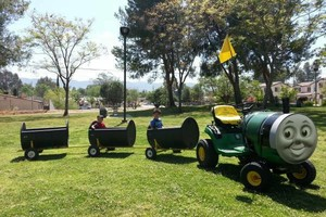 Photo #2: SPECIAL OFFER! BUNGEE TRAMPOLINE, TRACKLESS TRAIN, JUMPERS FOR RENT
