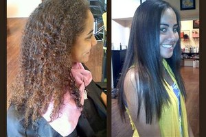 Photo #3: $150 Brazilian Blowouts (VALUE $250)/ OC hair styles