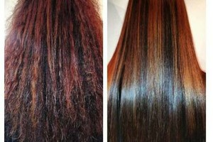Photo #1: $150 Brazilian Blowouts (VALUE $250)/ OC hair styles