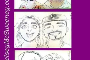 Photo #14: Caricature artist/ digital illustrator/ face painter!($30/hr) SPECIAL!