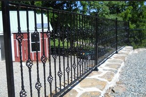 Photo #5: Steel Fence Restoration. Welding Services