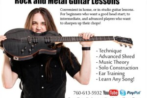 Photo #1: GUITAR LESSONS/ ROCK AND METAL!!!!