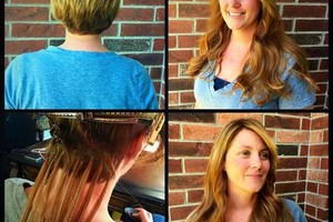 Photo #1: HAIR EXTENSIONS $450 TAPE-IN. CUSTOM HAIR STUDIO