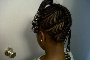 Photo #1: Braids and Fades