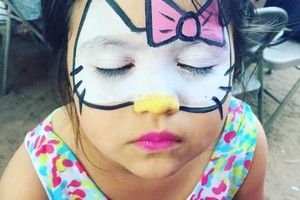 Photo #1: Sparkles of color -  Face painting