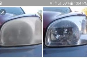 Photo #2: Mobile head light restoration service. I come to u, same day service!