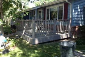 Photo #15: Custom Decks, Wood Fences, Skilled Carpenters! Gabil Construction