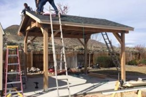 Photo #10: Custom Decks, Wood Fences, Skilled Carpenters! Gabil Construction