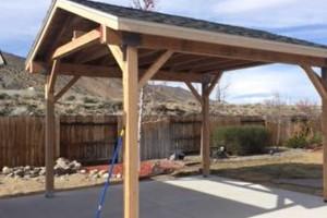 Photo #9: Custom Decks, Wood Fences, Skilled Carpenters! Gabil Construction