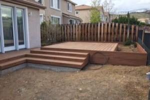 Photo #6: Custom Decks, Wood Fences, Skilled Carpenters! Gabil Construction