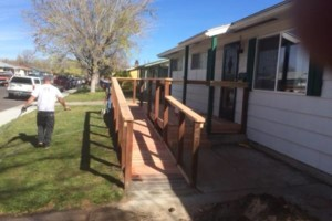 Photo #2: Custom Decks, Wood Fences, Skilled Carpenters! Gabil Construction