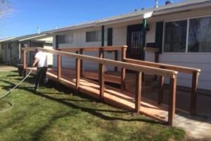 Photo #1: Custom Decks, Wood Fences, Skilled Carpenters! Gabil Construction