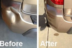 Photo #1: Mobile auto body repair (berglass repair, scrapes, dents)