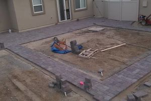 Photo #4: Paver Installation Crew. Licensed and Insured