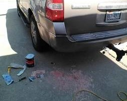 Photo #1: Anthony's auto's moble body repair