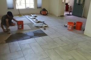 Photo #7: Custom Tile Installation - floors, showers, back splashes