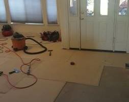 Photo #5: Custom Tile Installation - floors, showers, back splashes