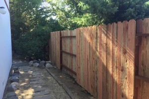 Photo #8: FENCE NEW/REPAIR AND REPLACE