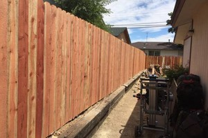 Photo #6: FENCE NEW/REPAIR AND REPLACE