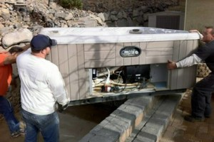 Photo #5: Hot tub / spa movers