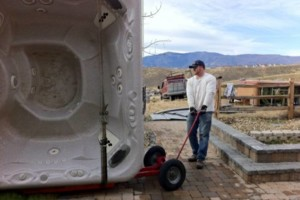 Photo #4: Hot tub / spa movers