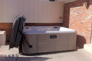 Photo #2: Hot tub / spa movers