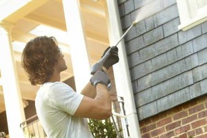 Photo #12: PRESSURE CLEAN the outside of your HOME, OFFICE, Deck, Windows