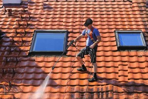 Photo #10: PRESSURE CLEAN the outside of your HOME, OFFICE, Deck, Windows