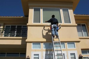 Photo #6: PRESSURE CLEAN the outside of your HOME, OFFICE, Deck, Windows